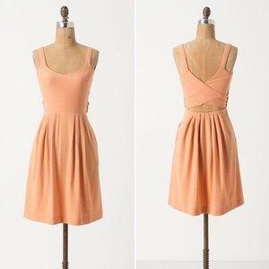 Anthropologie Postmark Dress Crossback Size M
